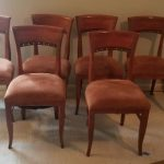 Set of six dining chairs, immaculate! $25 per chair
