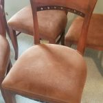 Dining chair detail; manufactured by Shafer Commercial Seating, CO