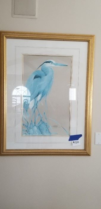 Gorgeous signed & numbered artwork $100