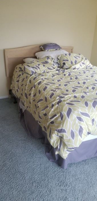 Queen bed with headboard $150 (matches the two dressers)