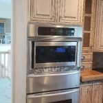 Spectacular kitchen with Thermador wall oven, microwave oven & warming tray. Appliances $300. Cabinetry sold separate